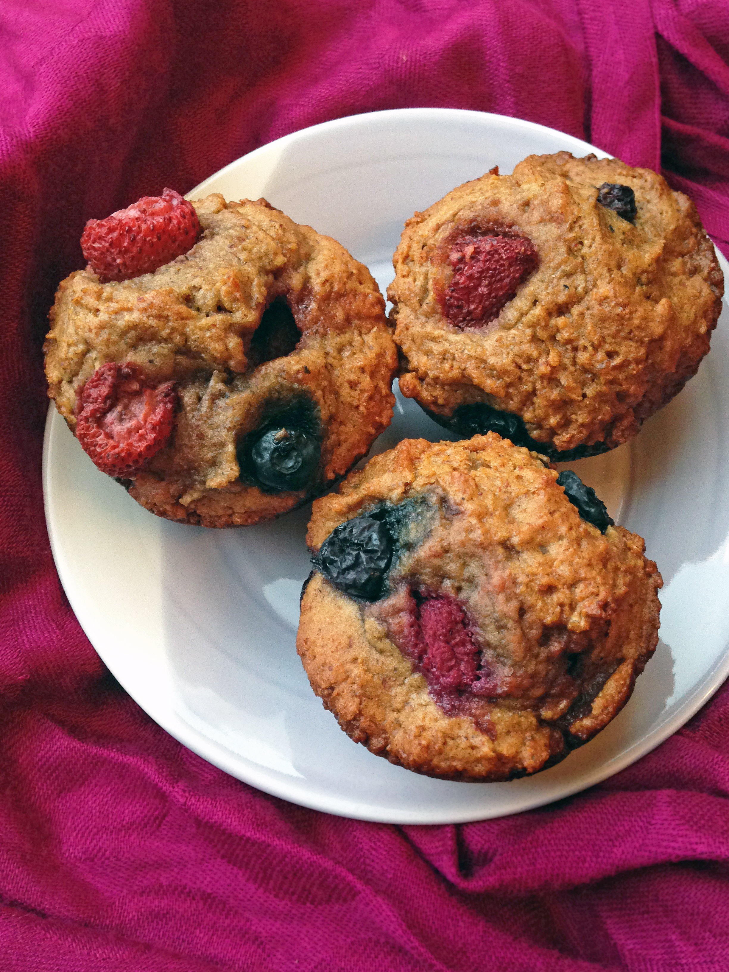Mixed Berry Breakfast Muffins Making Life Sweet