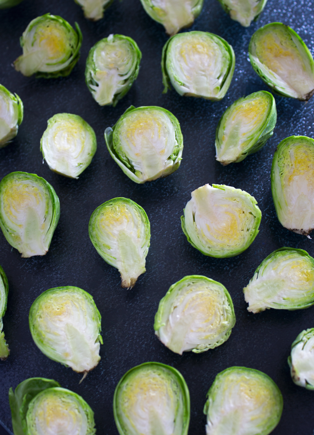Fried Brussels Sprouts with Honey,  Balsamic Vinegar + Toasted Breadcrumbs
