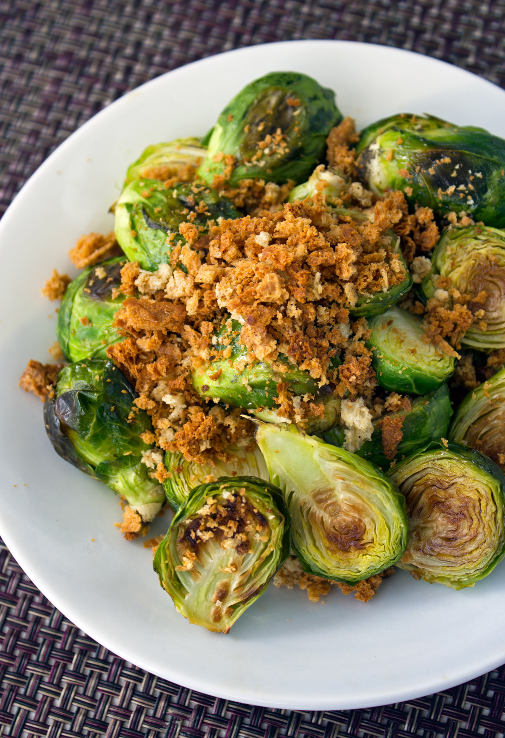 Fried Brussels Sprouts with Honey, Balsamic Vinegar ...
