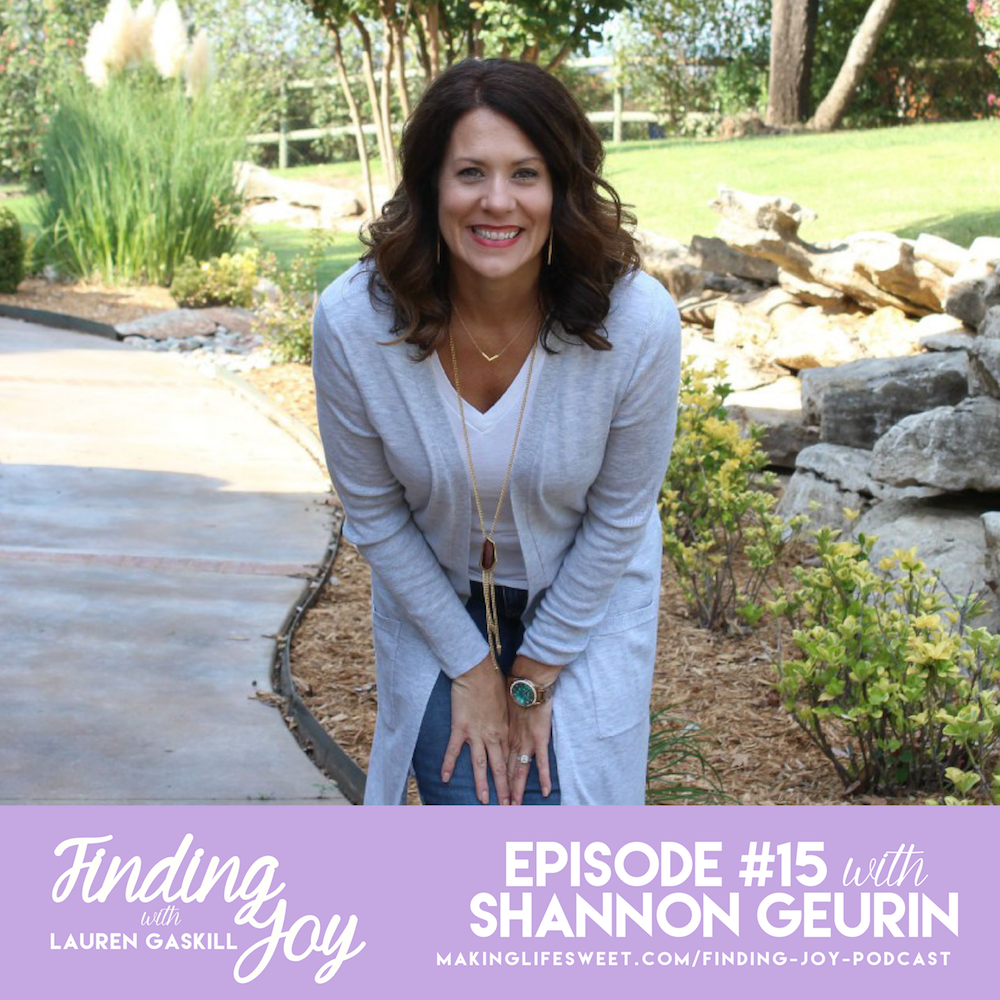 shannon geurin_finding joy podcast