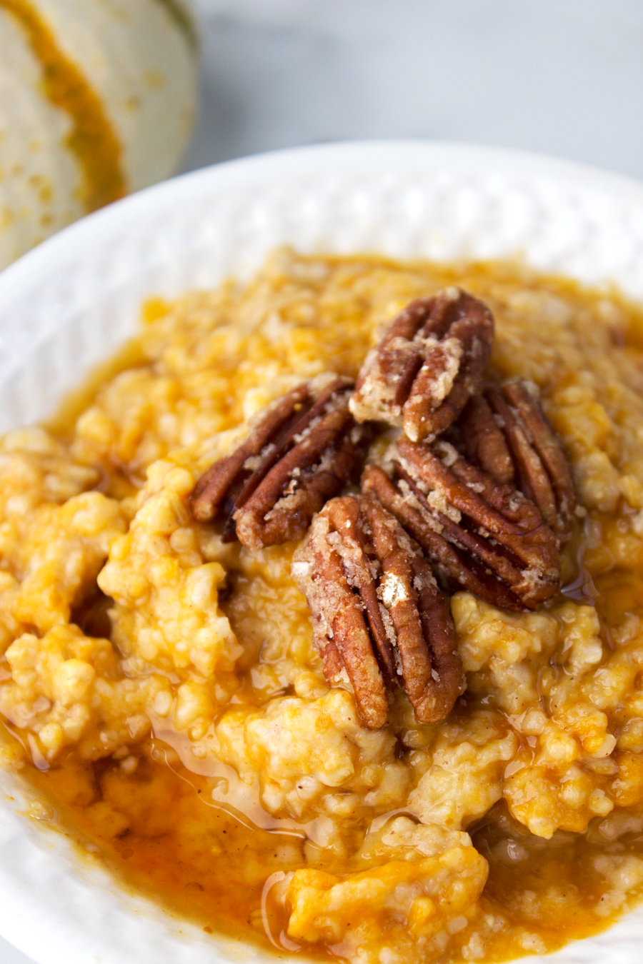 Pumpkin Pie Slow Cooker Steel Cut Oats