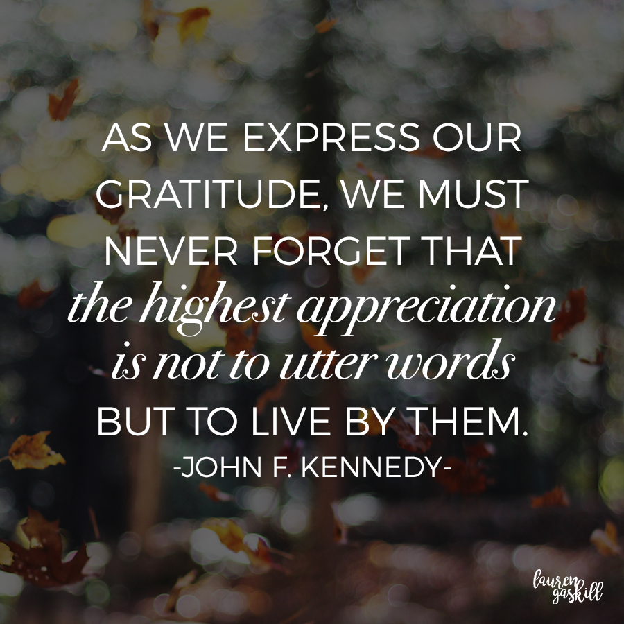 Inspirational Quotes About Gratitude: 9 Inspirational Quotes About Thanksgiving