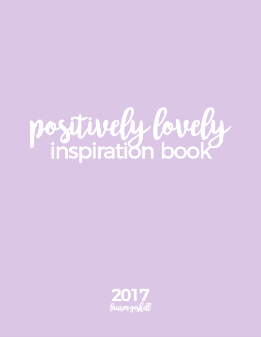 Positively Lovely Inspiration Book 2017