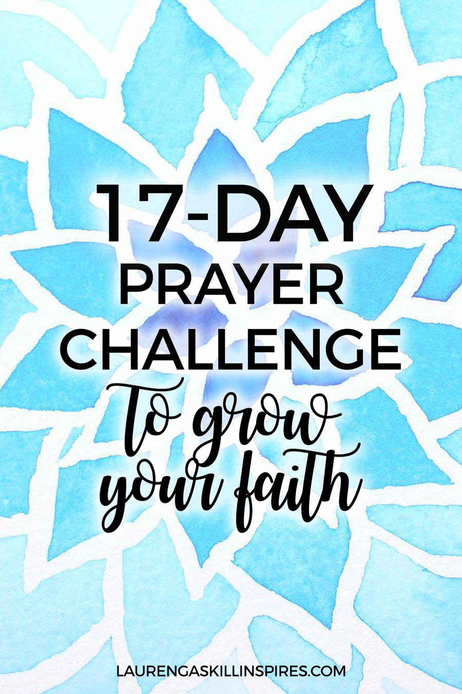 17-Day Prayer Challenge for 2017