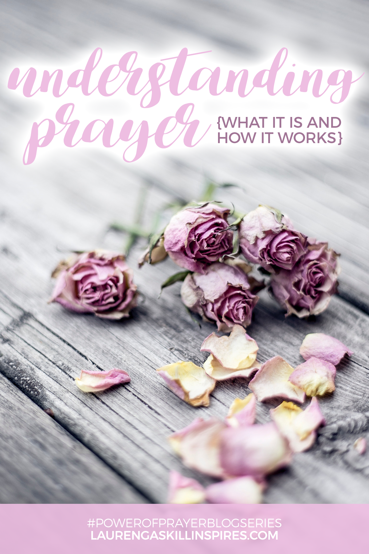 Discovering the Power of Prayer {8-Week Blog Series}