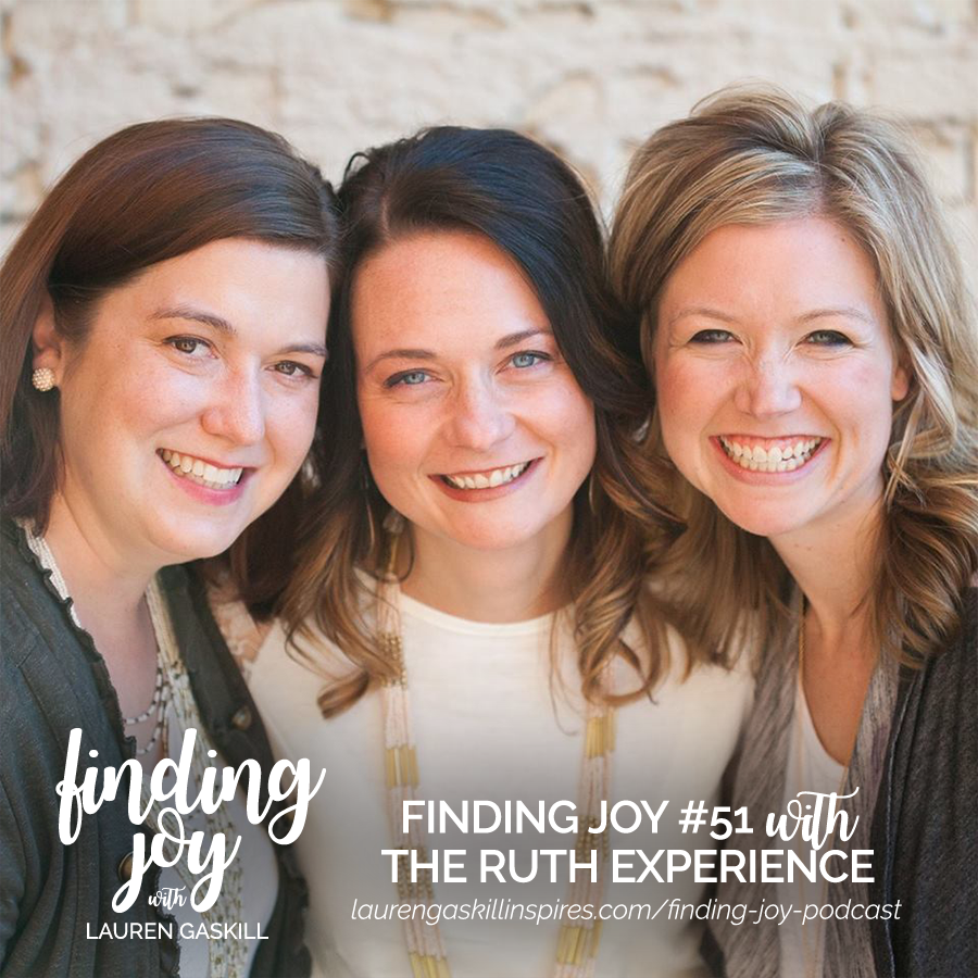 finding joy the ruth experience finding joy podcast