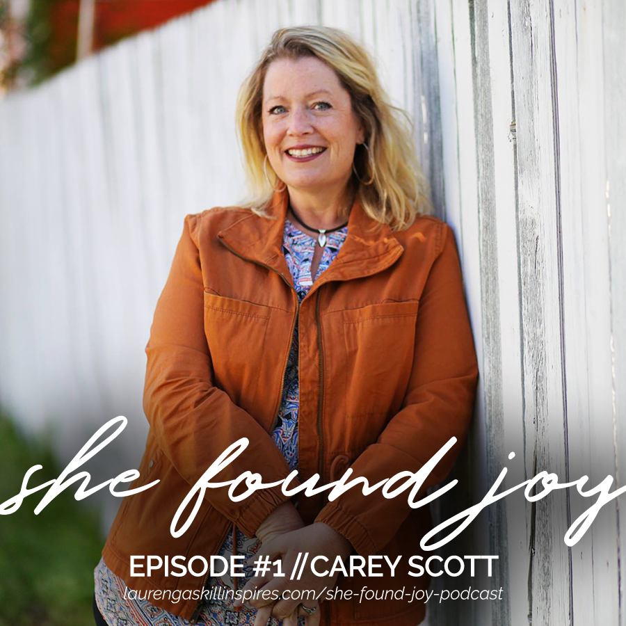 she found joy carey scott
